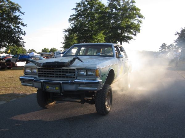 Chevrolet Caprice Wagon 24 Hours of LeMons Judgemobile