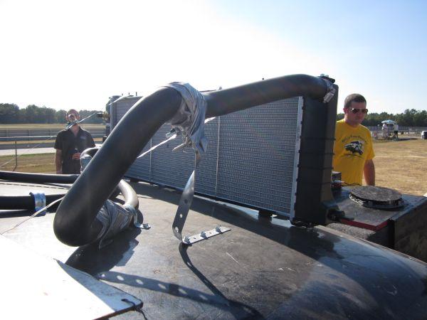 Skank Tank Caprice radiator mount