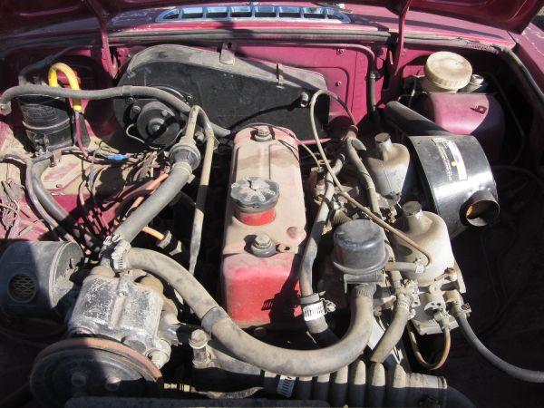 1972 MGB-GT Engine