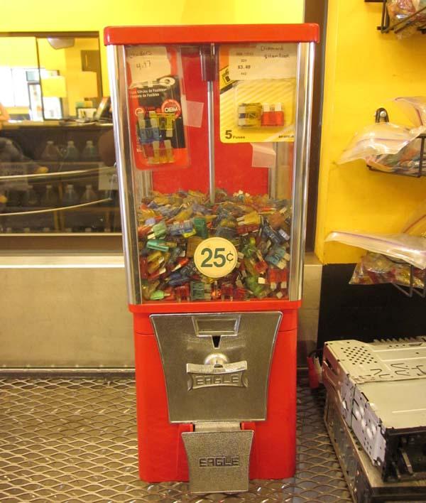 Fuse Gumball Machine