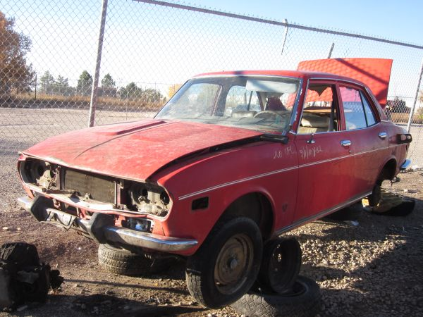 1972 Mazda RX-2 Down On The Junkyard