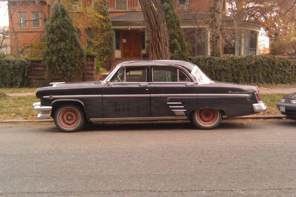1954 Mercury Monterey down on the Denver street