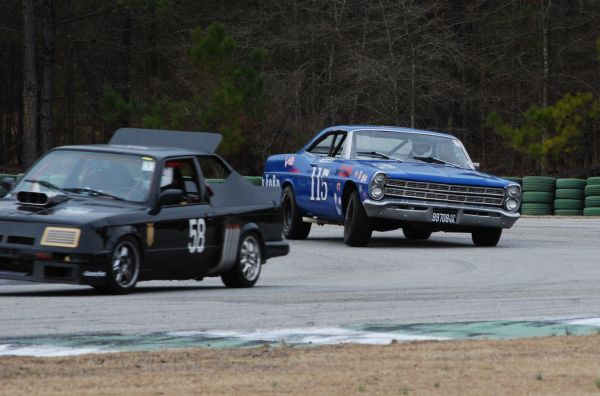 1967 Ford Galaxie race car
