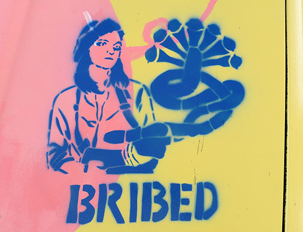 Murileemartin Com 187 Blog Archive 187 The Bribed Stencils Of